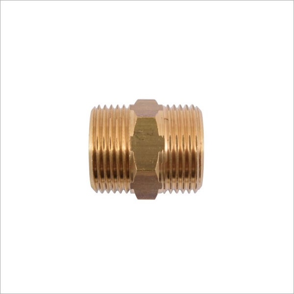 3/4M X 3/4M BRASS FITTING