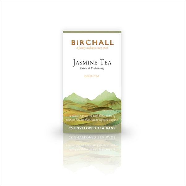 Birchall Jasmine Green Tagged & Enveloped