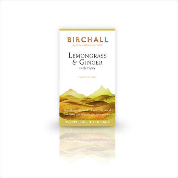 Birchall Lemongrass & Ginger Tagged & Enveloped