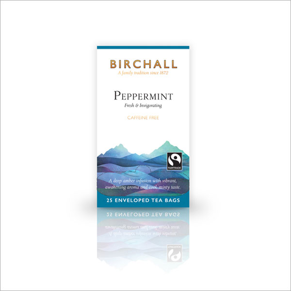 Birchall Peppermint Tagged & Enveloped