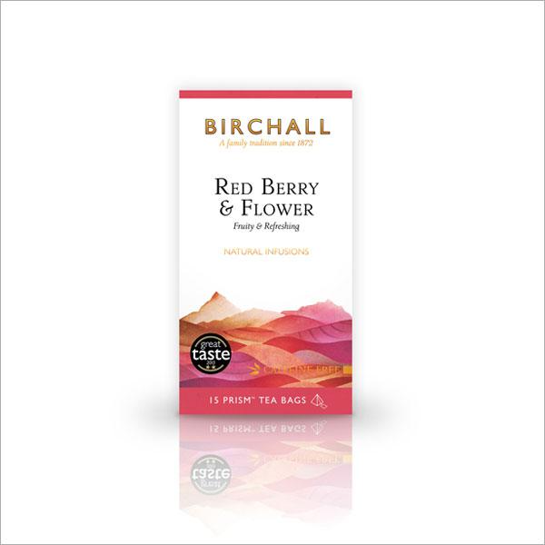 Birchall Red Berry & Flower Prism Tea