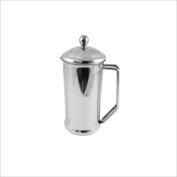 CAFETIERE STAINLESS STEEL 4 CUP 700ML - MIRROR FINISH