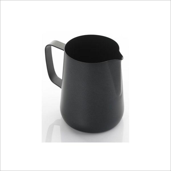 0.35 LITRE TEFLON FOAMING JUG - BLACK