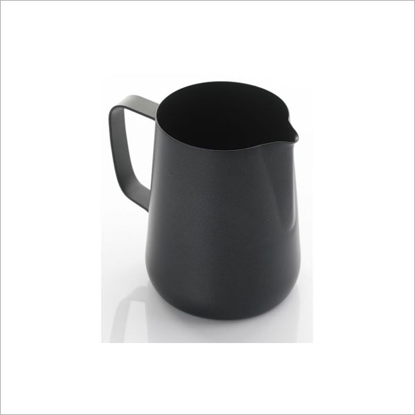 1 Litre Teflon Foaming Jug - Black