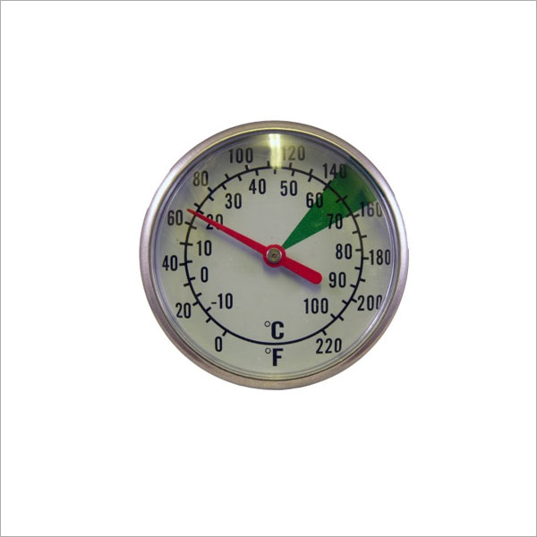 Motta Dual Dial Frothing Thermometer With Optimum Froth Zone Markings