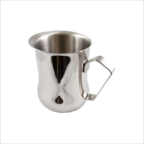 1 LITRE FROTHING JUG - BELLY