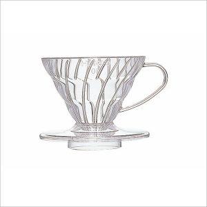 Hario Coffee Dripper V60 01 Clear Plastic