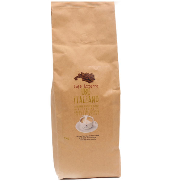 Cafe Azzurro Oro Italiano Coffee Beans