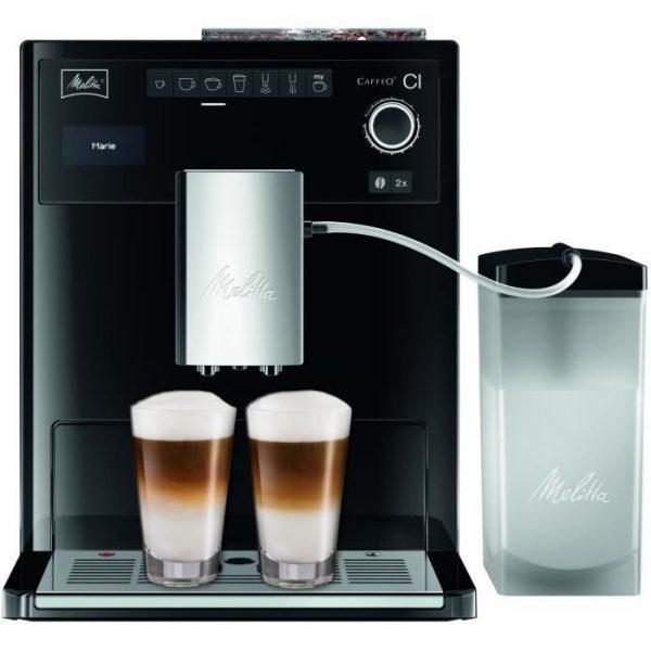 MELITTA E970-103 Automatic espresso machine with Caffeo CI grinder - Black