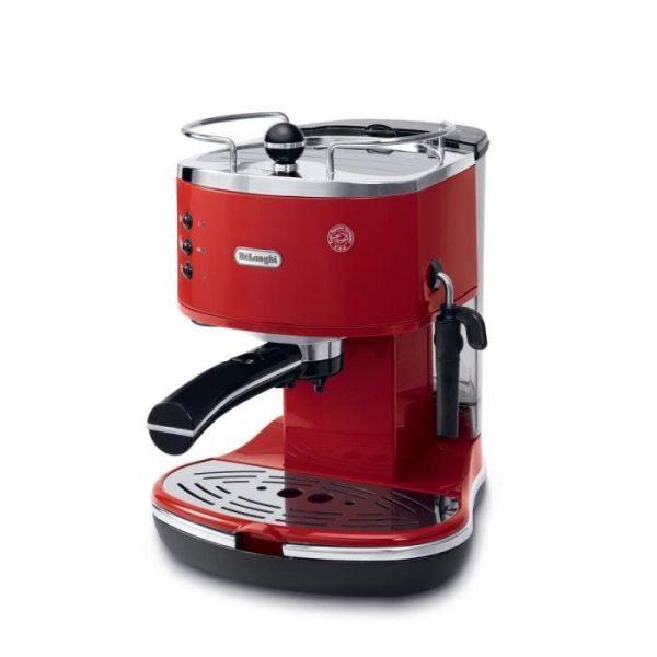 DELONGHI ECO 311.R Icona Classic Espresso Machine - Red