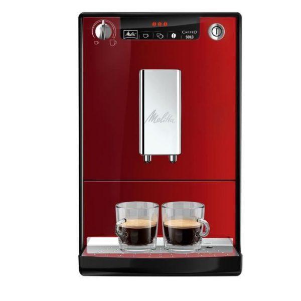 MELITTA E950-104 Automatic espresso machine with Caffeo Solo grinder - Red