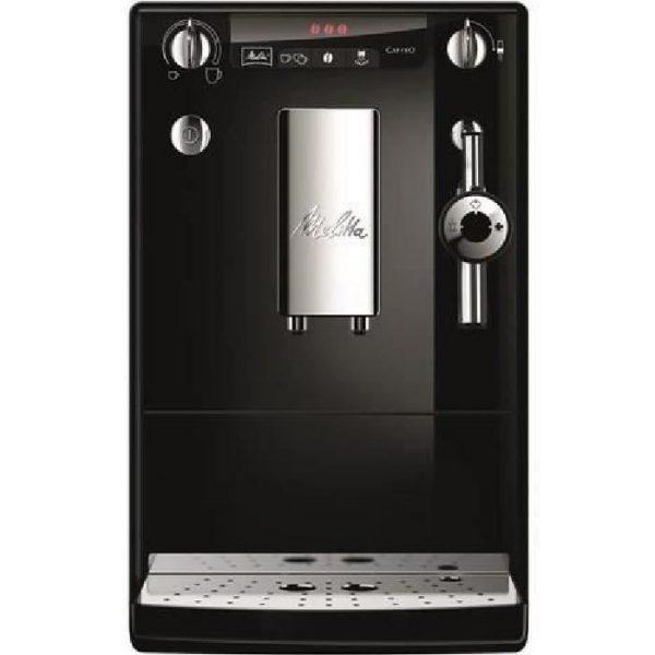 MELITTA E957-101 Automatic espresso machine with Caffeo Solo & Perfect Milk grinder - Black