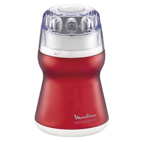 MOULINEX AR110510 Delhi Electric Coffee Grinder - Red