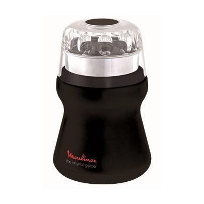 MOULINEX AR110830 Delhi Electric Coffee Grinder - Black