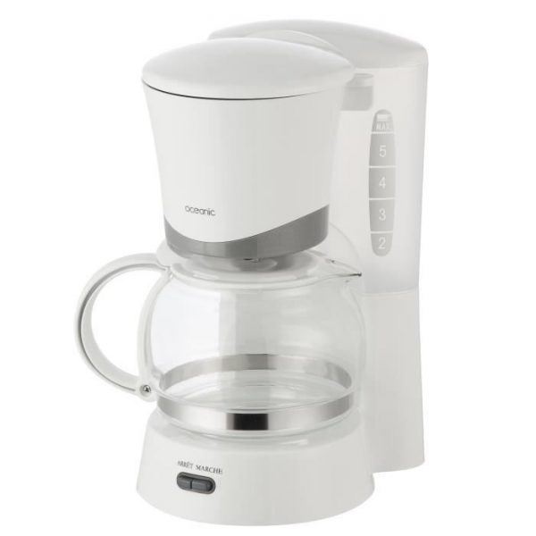 OCEANIC OCEACF6W Filter coffee makers - White