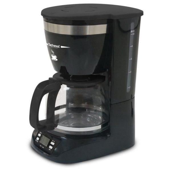 TECHWOOD TCA-996 Programmable filter coffee maker - Black