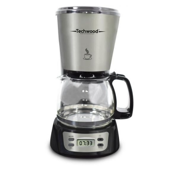 TECHWOOD TCA-840 Programmable filter coffee makers