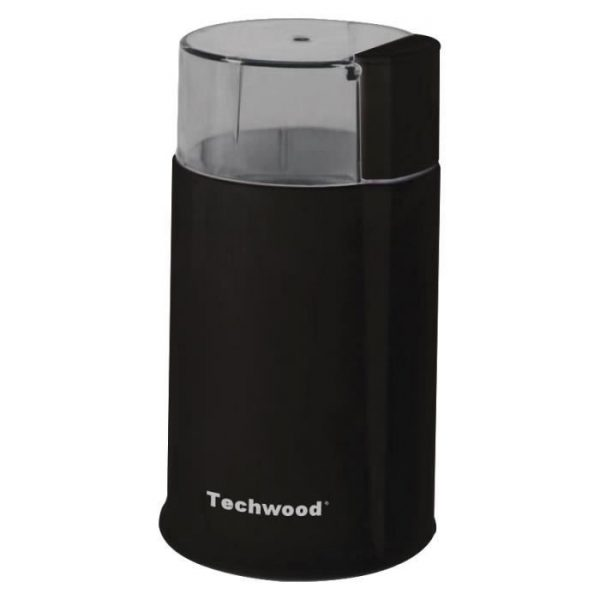 TECHWOOD TMC-886 Electric Coffee Grinder - Black